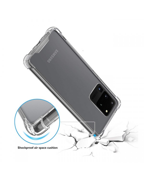 Blu Element - DropZone Rugged Case Clear for Samsung Galaxy S20 Ultra
