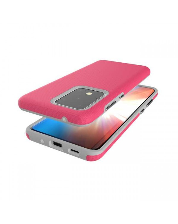 Blu Element - Armour 2X Case Pink for Samsung Galaxy S20+