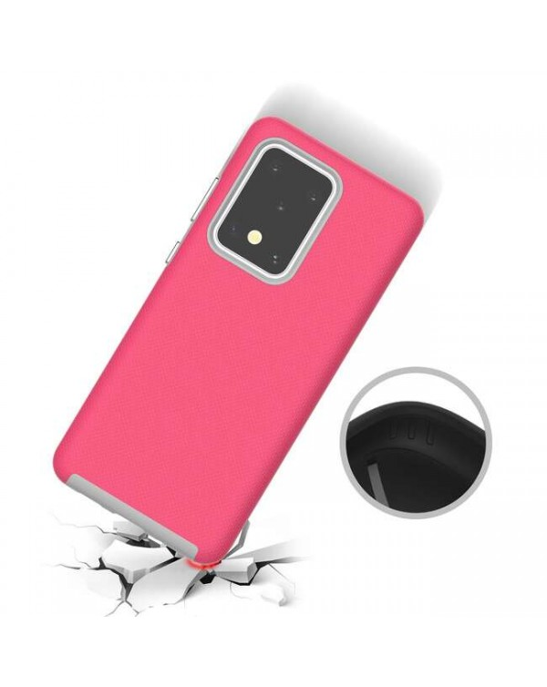 Blu Element - Armour 2X Case Pink for Samsung Galaxy S20 Ultra
