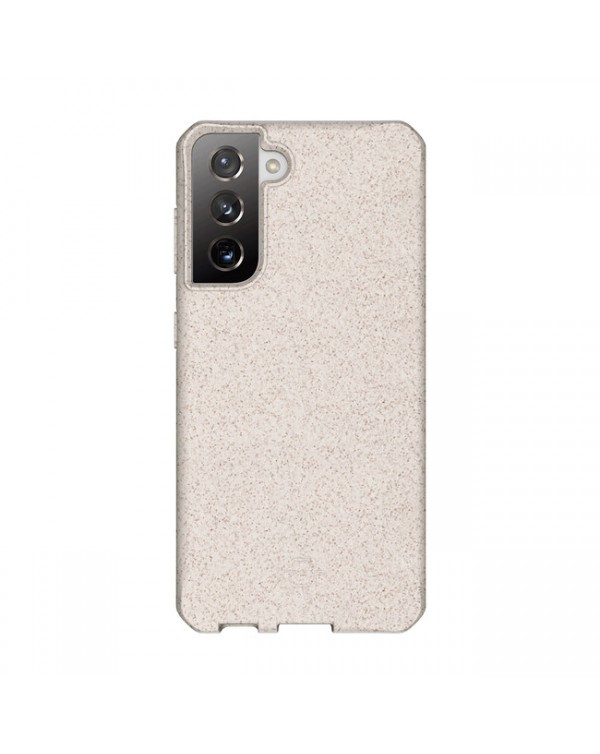 Feronia Bio - Terra DropSafe Biodegradable Case Natural for Samsung Galaxy S21 - This Case Plants 1 Tree