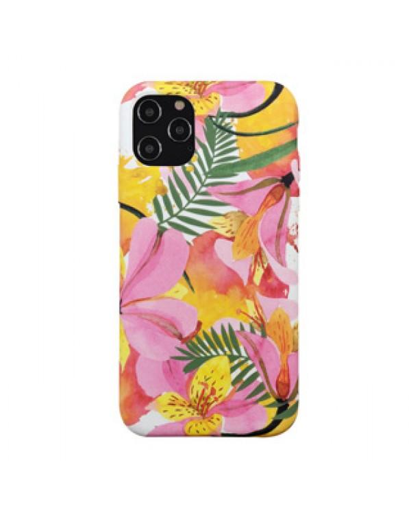iPhone 12 Pro Max Uunique (Tropical Blossom) Nutrisiti Eco Printed Back Case