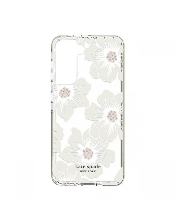 Kate Spade - Defensive Hardshell Case Hollyhock Floral for Samsung Galaxy S21 plus