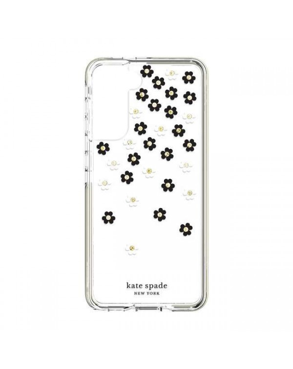 Kate Spade - Defensive Hardshell Case Scattered Flowers for Samsung Galaxy S21 Plus