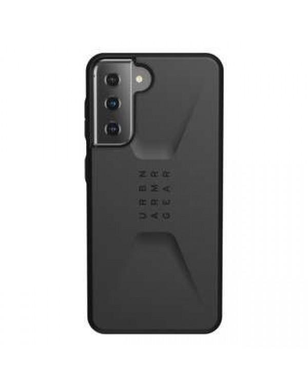 UAG - Civilian Rugged Case Black for Samsung Galaxy S21 plus