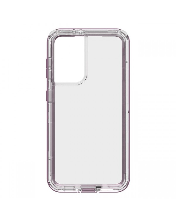 LifeProof - Next Dropproof Case Napa (Clear/Grapeade) for Samsung Galaxy S21