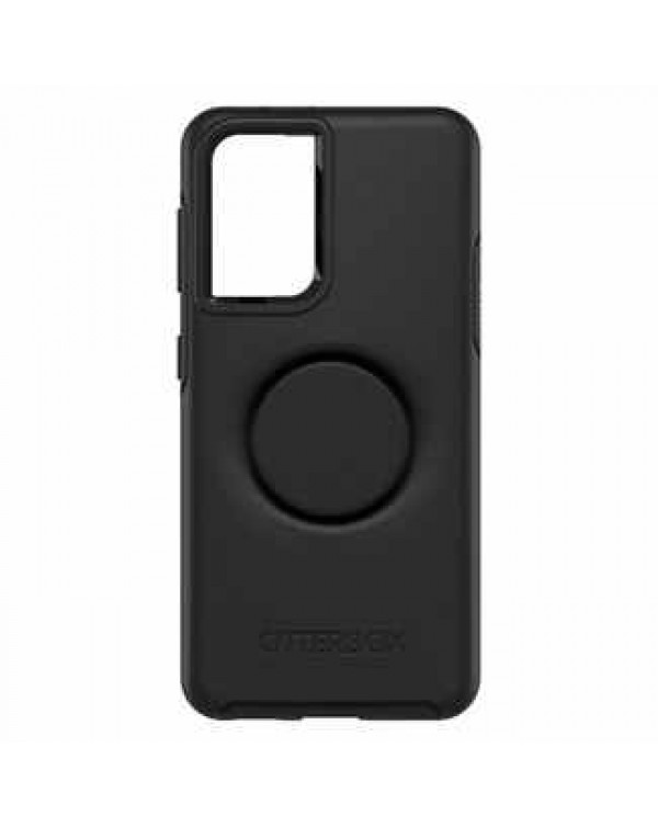 Otterbox - Otter+Pop Symmetry Case with Swappable PopTop Black for Samsung Galaxy S21 plus
