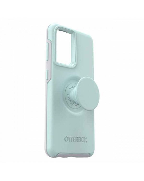 Otterbox - Otter+Pop Symmetry Case with Swappable PopTop Tranquil Waters for Samsung Galaxy S21