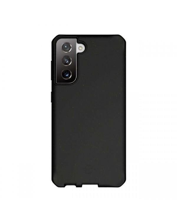 Feronia Bio - Terra DropSafe Biodegradable Case Black for Samsung Galaxy S21
