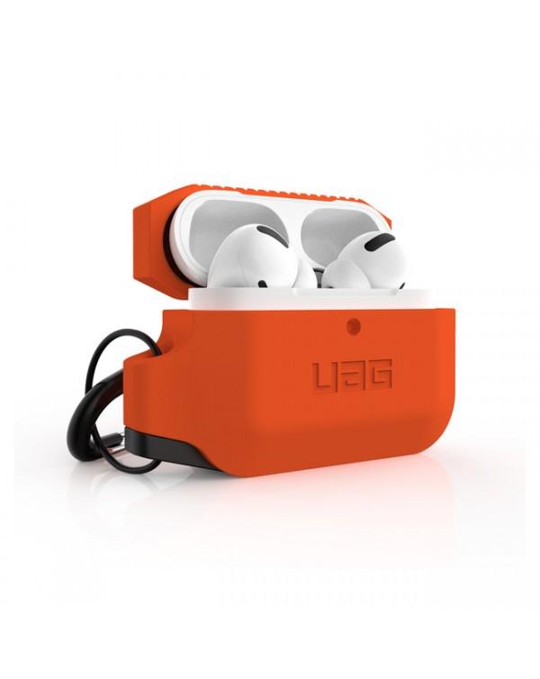 UAG - Silicone Rugged Case Orange/Black for AirPods Pro