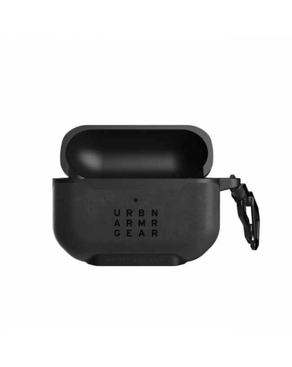 UAG - Metropolis Rugged Leather Case Black for AirPods Pro