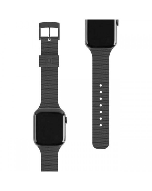 UAG - [U] Dot Silicone Strap Black for Apple Watch Series 6/SE/5/3/4 40/38mm