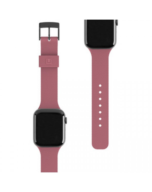 UAG - [U] Dot Silicone Strap Dusty Rose for Apple Watch Series 6/SE/5/3/4 40/38mm