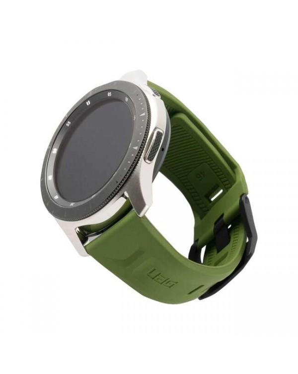 UAG - Scout Silicone Rugged Strap Olive for Samsung Galaxy Watch 46 mm