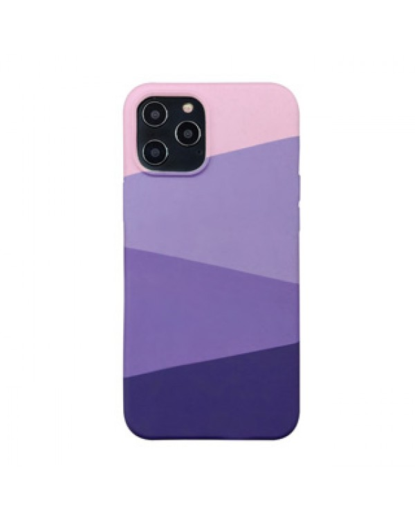 iPhone 12 Pro Max Uunique Purple (Purple Haze) Nutrisiti Eco Printed Back Case