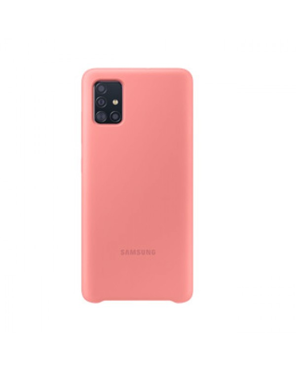 Samsung Galaxy A51 Pink OEM Silicone Cover Case