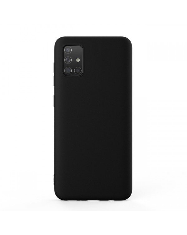 Blu Element - Gel Skin Case Black for Samsung Galaxy A71
