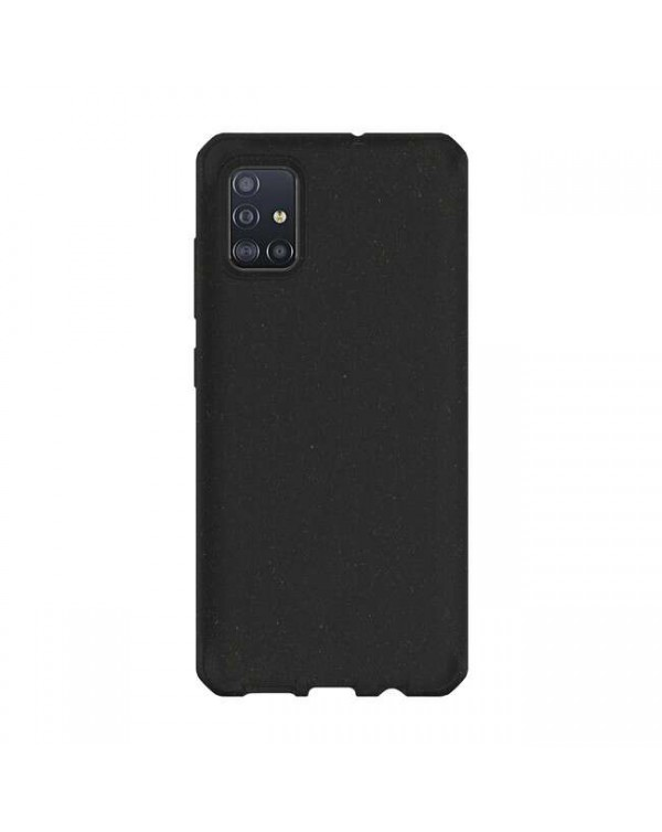 Feronia Bio - Terra DropSafe Biodegradable Case Black for Samsung Galaxy A71