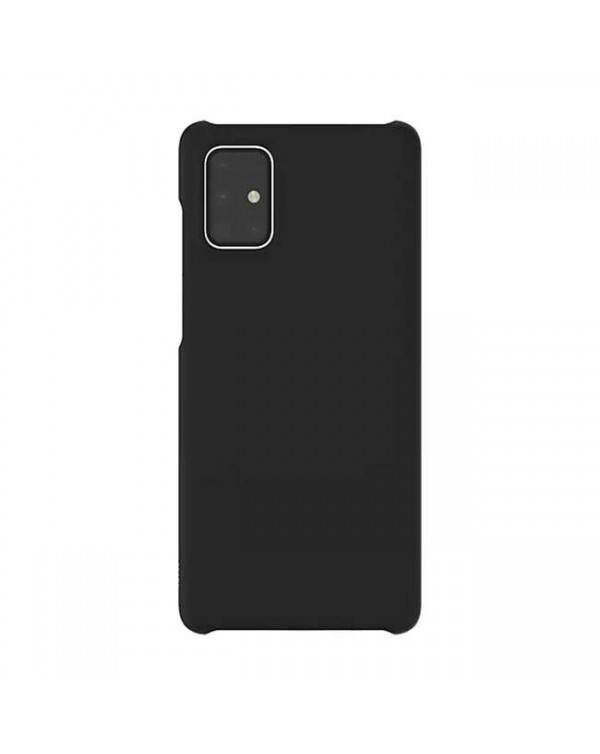 Samsung - Premium Hard Case Black for Samsung Galaxy A71