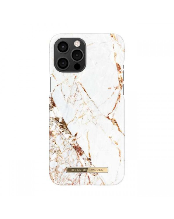 Ideal of Sweden - Fashion Case Carrara Gold for iPhone 12 Pro Max