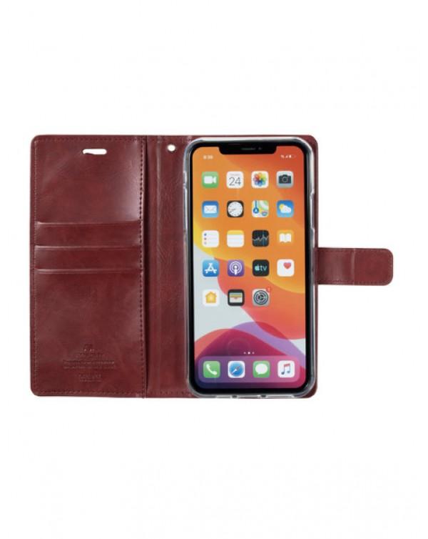Mercury Bluemoon Diary for Apple iPhone XS Max-Wine