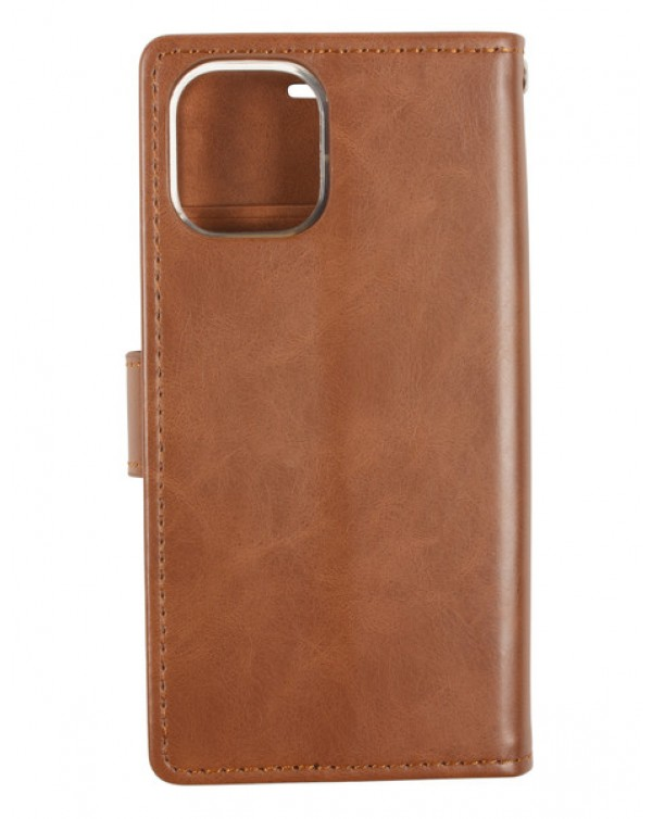 Mercury Bluemoon Diary for Samsung Galaxy S20-Brown