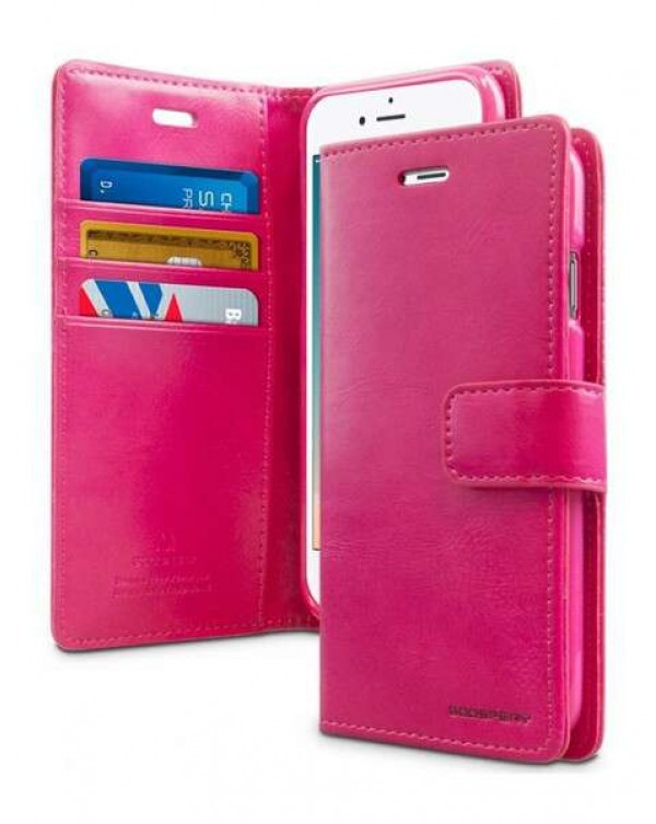 Mercury Bluemoon Diary For Apple IPhone 6 Plus/6S Plus-hot pink
