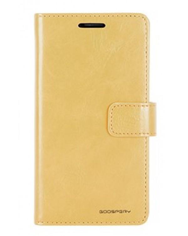 Mercury Bluemoon Diary For Apple IPhone 6 Plus/6S Plus- Gold