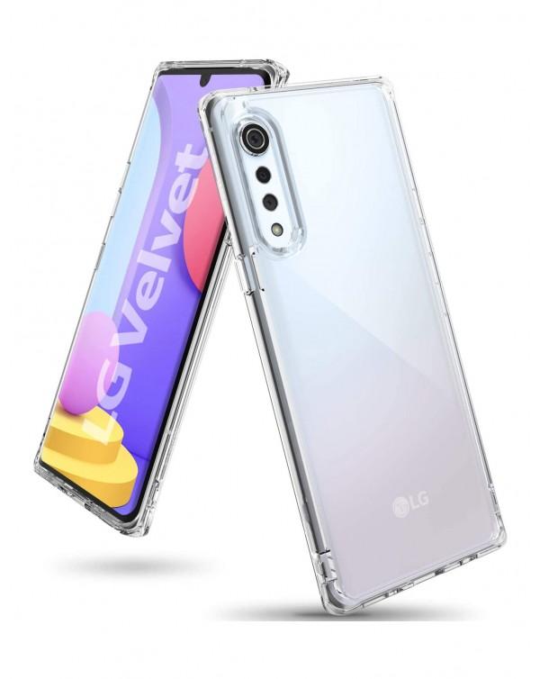 Capsul TPU Case for LG Velvet 5G (LMG900UM2) Clear