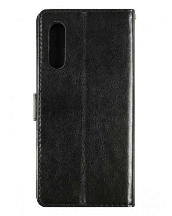 Capsul Wallet Case for LG Velvet 5G (LMG900UM2)-Black