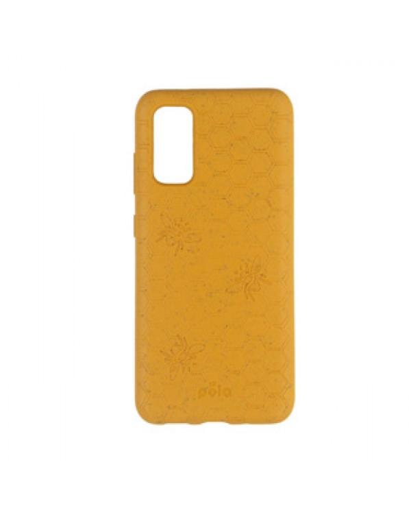 Samsung Galaxy S20 5G Pela Yellow (Honey Bee Edition) Compostable Eco-Friendly Protective Case