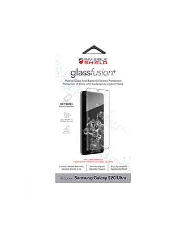 Samsung Galaxy S20 Ultra 5G ZAGG InvisibleShield Glass Fusion+ Case Friendly Screen Protector