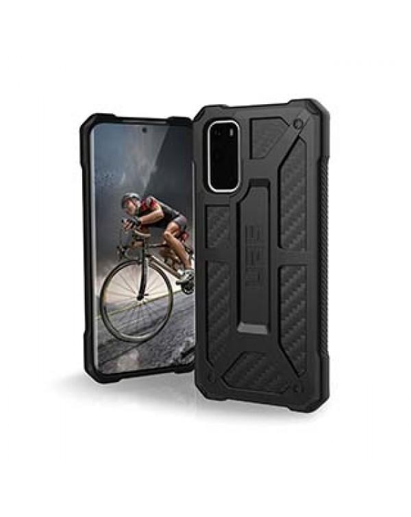 Samsung Galaxy S20 5G UAG Black (Carbon Fiber) Monarch Case