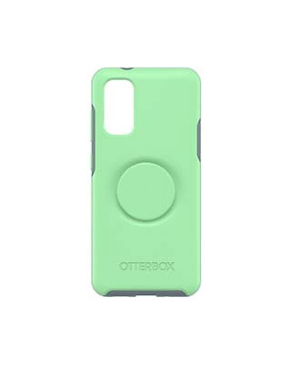 Samsung Galaxy S20 5G Otterbox + POP Turquoise/Blue (Mint To Be) Symmetry Series Case