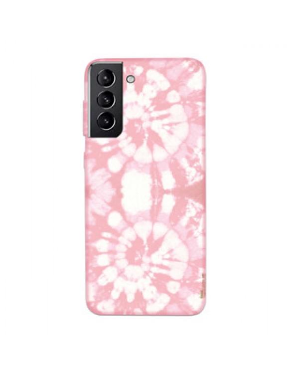 Samsung Galaxy S21 5G Uunique Pink (Pink Tie Dye) Nutrisiti Eco Printed Back Case