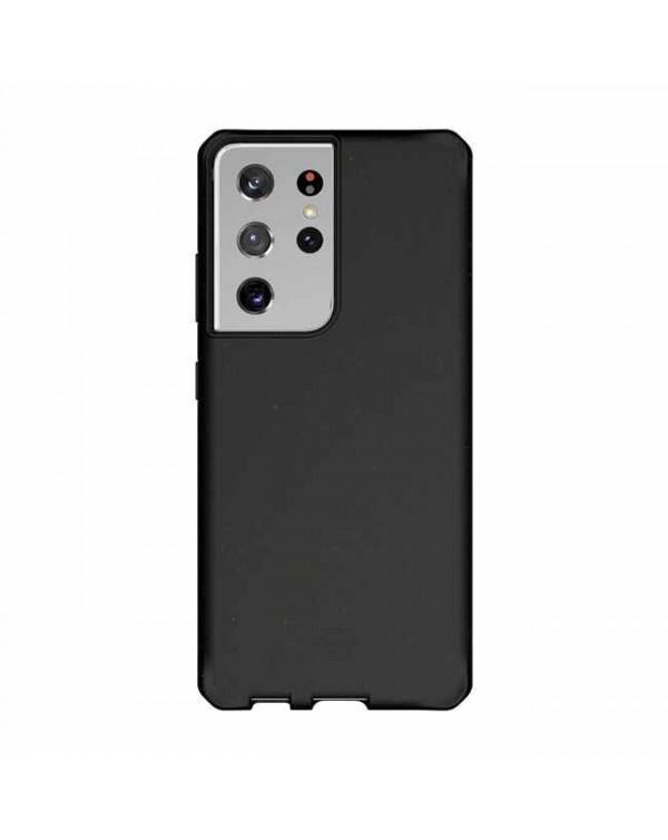 Feronia Bio - Terra DropSafe Biodegradable Case Black for Samsung Galaxy S21 Ultra