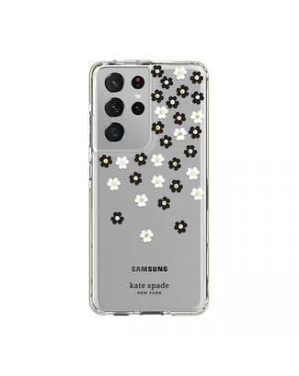 Kate Spade - Defensive Hardshell Case Scattered Flowers for Samsung Galaxy S21 Ultra