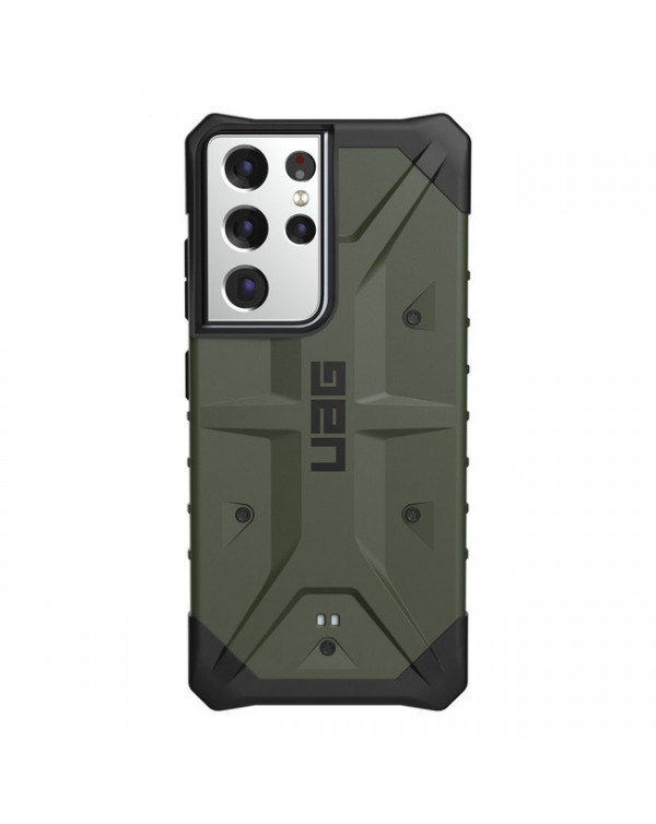 UAG - Pathfinder Rugged Case Olive for Samsung Galaxy S21 Ultra