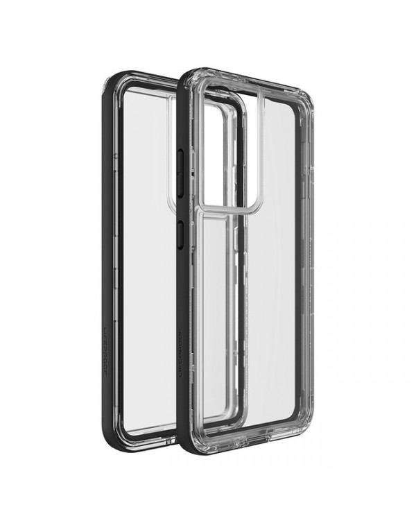 LifeProof - Next Dropproof Case Black Crystal (Clear/Black) for Samsung Galaxy S21 Ultra