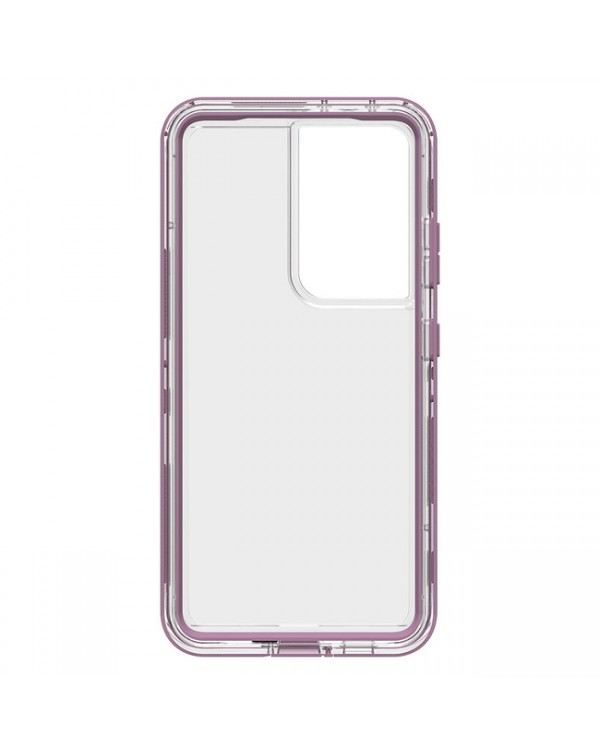 LifeProof - Next Dropproof Case Napa (Clear/Grapeade) for Samsung Galaxy S21 Ultra