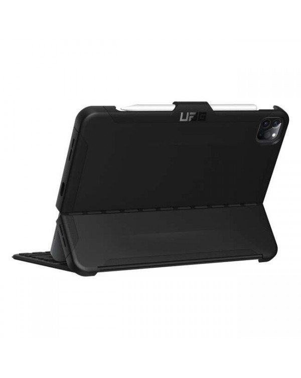 UAG - Scout Rugged Folio Case Black for iPad Air 4 Gen/iPad Pro 11 2020/iPad Pro 11
