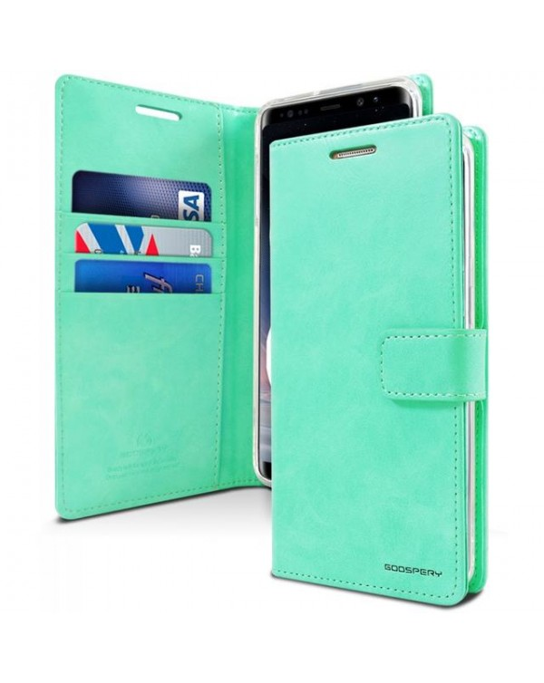 Mercury Bluemoon Diary for Samsung Galaxy S20 Ultra-Teal