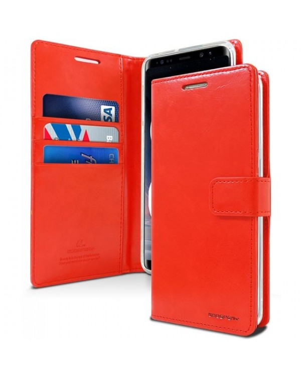 Mercury Bluemoon Diary for Samsung Galaxy S20 Ultra-Red