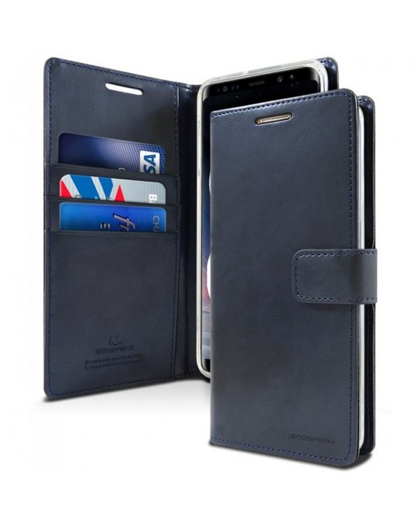Mercury Bluemoon Diary for Samsung Galaxy S20 Ultra-Navy