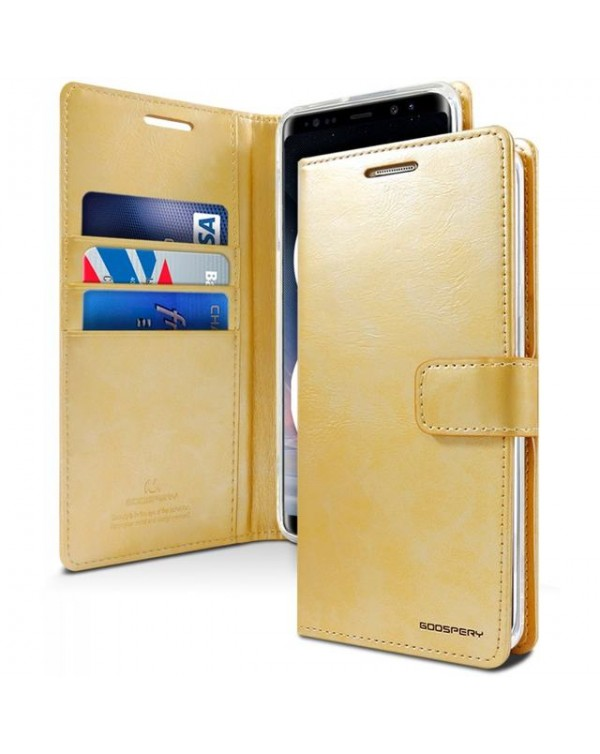 Mercury Bluemoon Diary for Samsung Galaxy S20 Ultra-Gold