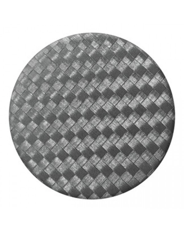 PopSockets - PopGrip Carbonite Weave Black
