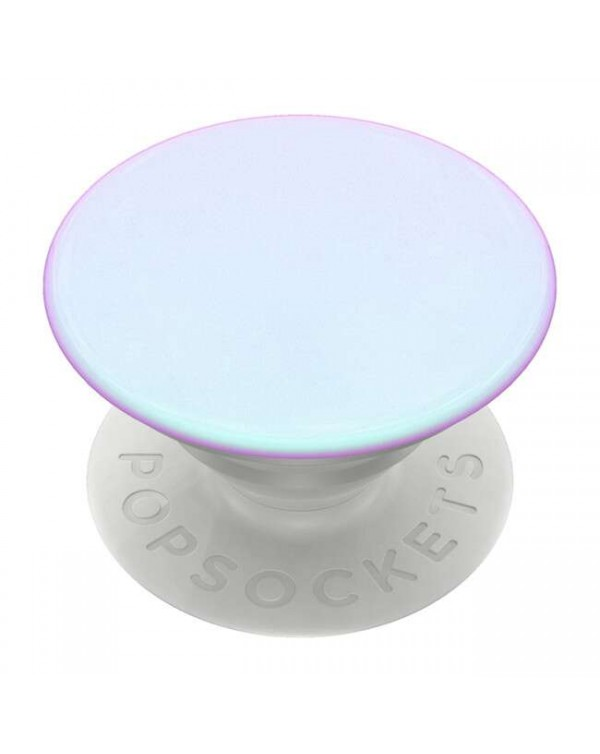 PopSockets - PopGrip Chrome Mermaid White