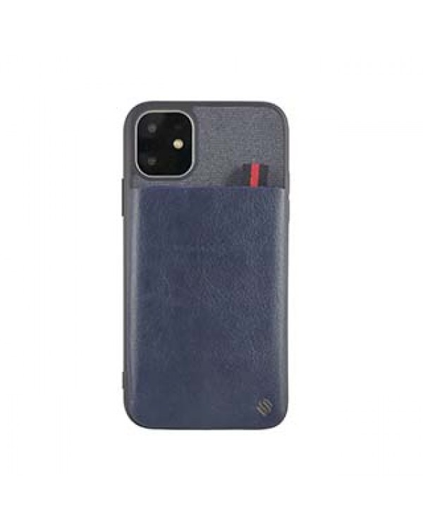 iPhone 11/XR Uunique Blue Essex Pocket Case
