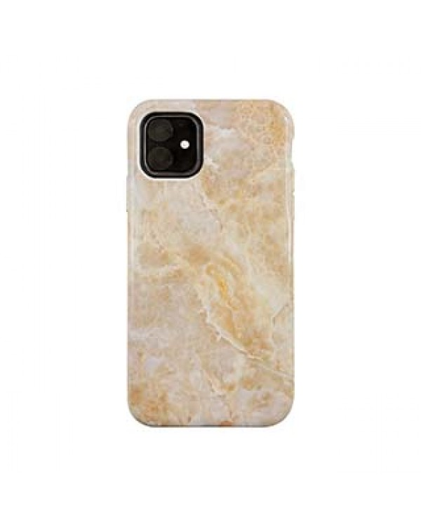 iPhone 11/XR Uunique Beige (Beige Marble) Nutrisiti Eco Printed Marble Back Case