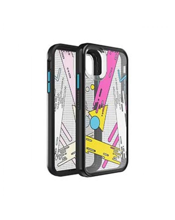 iPhone 11/XR LifeProof Grey/Pink/Yellow (Pop Art) Slam Series Case