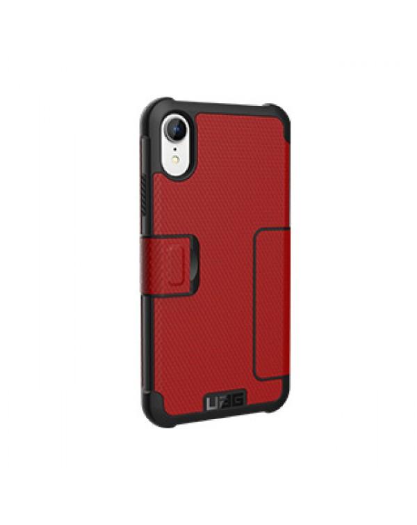 iPhone XR UAG Red/Black (Magma) Metropolis Series Folio case